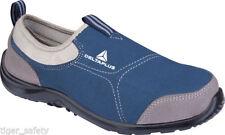 Stivali , anfibi e scarponcini da uomo blu tela