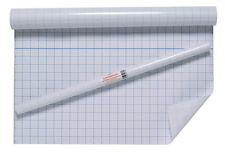 Adhésif clair collant retour film plastique couverture grille livres d'exercices 50 cm x 3m