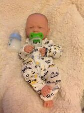 "Baby Real Boy Reborn Doll Preemie Toy Newborn 14"" PREEMIE,  Vinyl Life Like"