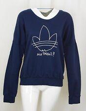 Adidas Women's Trefoil Logo Sweatshirt Size MEDIUM