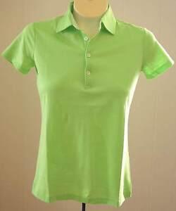 Polo Golf Ralph Lauren Shirt XS Lime Green NWT $89 Short Sleeves