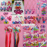 NEW My little Pony Series Lovely Hairpiece Kid Hair Clips Birthday Cute Gift LOT