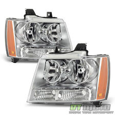 2007-2014 Chevy Suburban 1500 Avalanche Tahoe Headlights Headlamps Left+Right