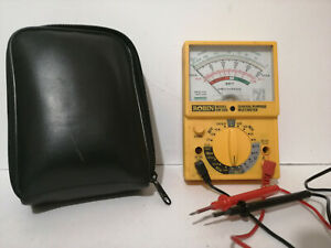 Robin Model OM50N General Purpose Multimeter case and instructions