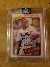 2020 Topps Archives Ryan Howard 1/1 Philadelphia Phillies Auto