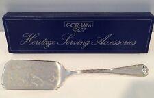 Nib Gorham Silverplated Lasagna Server Heritage Serving #Yh507 Italy New Stock