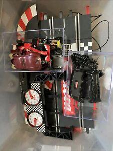 carrera digital 1/32 scale slot cars And Track