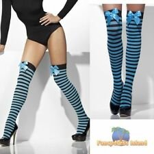 Glamour Synthetic Striped Stockings & Hold-ups for Women