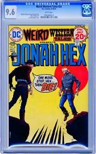 Weird Western Tales  #24   CGC  9.6  NM+   White pgs   9-10/74 Michael Fleisher
