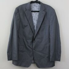40 SAVILE ROW x LORO PIANA Sakko Pinstripe 2 Button Suit Blazer Mens 54 B238
