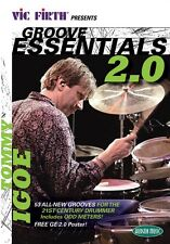 Vic Firth Groove Essentials 2.0 Tommy Igoe Instructional DVD ONLY 000320806