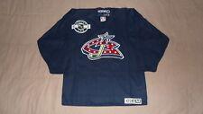Columbus Blue Jackets Blue CCM Center Ice Youth L/XL Practice NHL Hockey Jersey