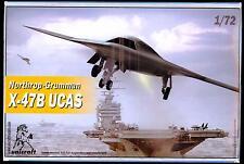 Unicraft Models 1/72 NORTHROP GRUMMAN X-47B UCAS Unmanned Combat Air System