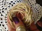 Waxed Cotton Cord 5 Metre length Caramel 1 Mm Thickness DIY Necklace Jewellery