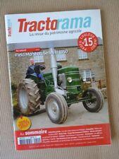 Tractorama n°15, Field Marshall Series III, David Brown Cropmaster, Fendt, affic