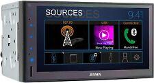 New listing Jensen Cmr682 6.8 inch Double Din Bluetooth Car Stereo Digital Media.