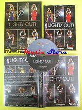 DVD basket LIGHTS OUT! UNO CONTRO TUTTI la gazzetta dello sport LOVE NBA no vhs