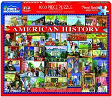 American History 1000 piece jigsaw puzzle  760mm x 610mm  (wmp)