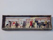 Merten Box 800, H0, 6 Verkäufer + Dienstmänner, Railroad Figures  O-Box, MDM
