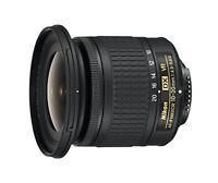 Nikon wide angle zoom lens AF-P 10-20 mm f/4.5-5.6 G VR Nikon DX format only F/S