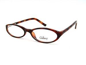 Gallery EVELYN Women's Oval Eyeglasses Frame, Demi. 48-16-130 Teen / Petite. NEW