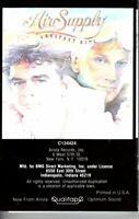 Air Supply Greatest Hits Black Cover 1983 Cassette Tape Album Pop Folk Rock Soft