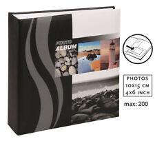 Wave Leuchtturm Fotoalbum für 200 Fotos in 10x15 Einsteckalbum Memo Foto Album