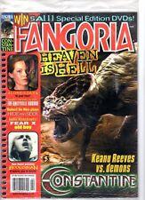 WoW! Fangoria #240 Constantine! Alone In The Dark! Amityville Horror! Boogeyman!