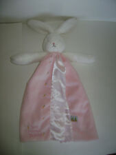 Bunnies By The Bay Bunny Best Friends Indeed Plush Security Blanket Lovey Pink