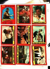 1984 Topps Indiana Jones & Temple of Doom Trading Card Set NO STICKERS EX-NM