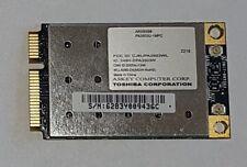 TOSHIBA PA3503U-1MPC, ATHEROS AR5BXB6, 802.11A/B/G WIRELES MINI PCIE, WLL4080-D4