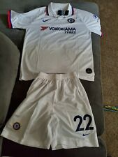 Christian Pulisic Chelsea Football Club Away Jersey &Short set Size Adult Medium