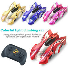 AU Wall Floor Climbing RC Racing Car Radio Remote Control Racer Toy Kids Gift