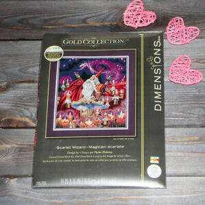 Dimensions Counted Cross Stich Gold Collection Scarlet Wizard 35141