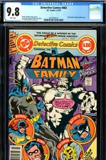 Detective Comics #482 CGC GRADED 9.8 - HIGHEST GRADED - 68 pages - white pages