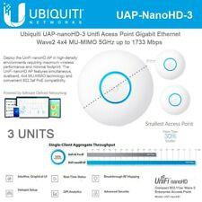 Ubiquiti UAP-NANOHD-3 UniFi 4x4 MU-MIMO Wave-2 AP International Version (3-Pack)