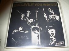 "ROLLING STONES got live if you want it ( rock ) 7""/45 picture sleeve - ep - uk -"