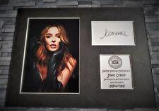 More details for jodie comer - villanelle - signed autograph display - killing eve