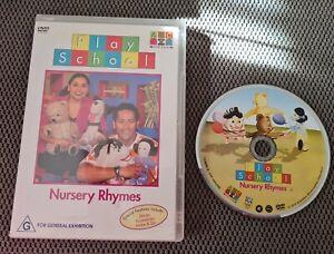 Play School Nursery  Rhymes (2003) DVD ABC KIDS Free Postage