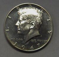 1967 SMS 40% Silver John F Kennedy Half Dollar Flashy Gem DUTCH AUCTION