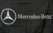 MERCEDES BENZ HORIZONTAL  3' x 5' Polyester Banner Flag