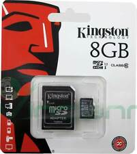 Scheda microSD KINGSTON 8GB SDHC classe 10 per Samsung Galaxy S4 i9505 S4 Mini