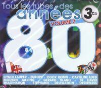 ANNEES 80 Vol.2 - 3 CD NEU Spagna Stephanie Gazebo Silver Pozzoli Den Harrow