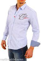 Camicia Uomo Maniche Lunghe BAXMEN Slim Fit Shirt 3096/91 A644 Tg S M L     **
