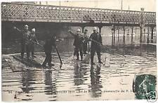 CPA Paris Inondation de janvier 1910 (96055)