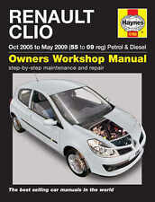 Renault Clio Repair Manual Haynes Manual Workshop Service Manual 2005-2009 4788