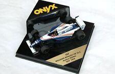 ONYX 187 Williams RENAULT FW15C modèle F1 Voiture F1 test 1994 Ayrton Senna 1:43 RD