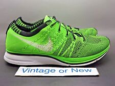 63330d94e8aa Men s Nike Flyknit Trainer+ Electric Green Black White 2012 sz 7
