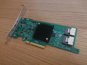 LSI 9207-8i IT mode SATA SAS LSI SAS2308 PCIe 3 for SSDs ZFS FreeNAS UnRAID