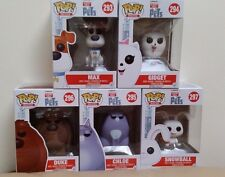 In-Hand New Funko POP! Movies Secret Life Of Pets Set of 5